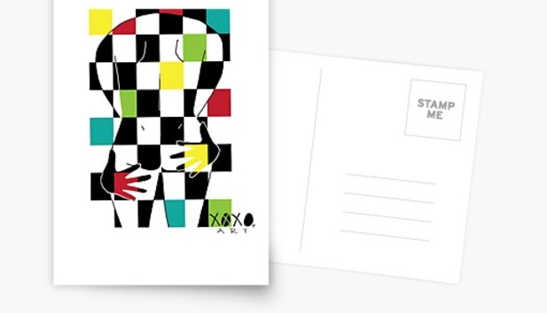 Excitator Postcard