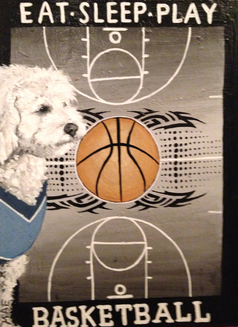 BASKETBALL DOG