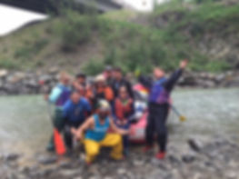 Mead White Water Rafting