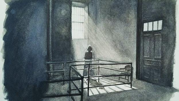 Watercolor Study Value - Film Noir