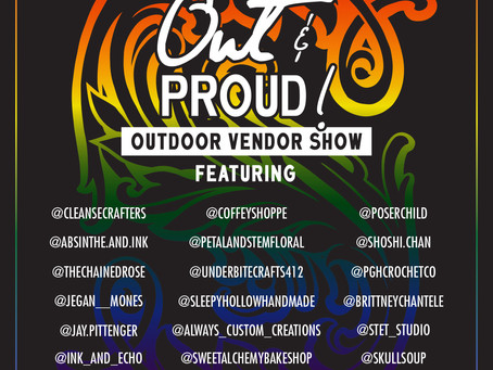 Out and Proud -  June 12th Market