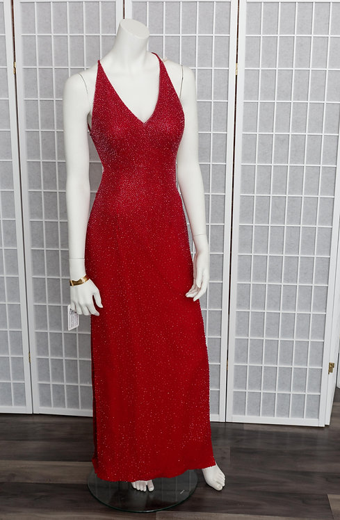 Scala Sequin Couture Evening Gown