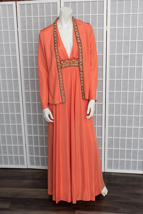 70's Gown & Jacket