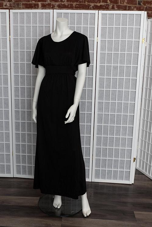 70's Polyester Maxi Dress