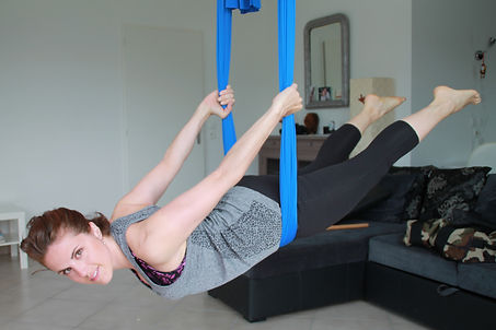 yoga aérien chambery fitness gym