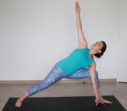 Yoga dynamique Vinyasa Chambery fitness
