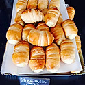 A selection of bite-size Italian pastries and cakes freshly made daily