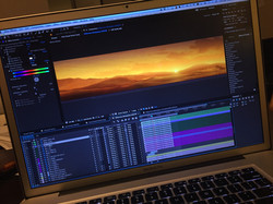 Animating virtual scenery for 130ft LED screen