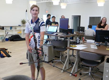 One archer's journey across Canada – celebrating Archery Day in Canada with Dawson Oderkirk