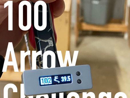 Toxon Technologies Challenges Archers with the #100ArrowChallenge