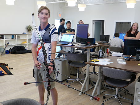 One archer's journey across Canada – celebrating Archery Day in Canada with Dawson Oderkirk