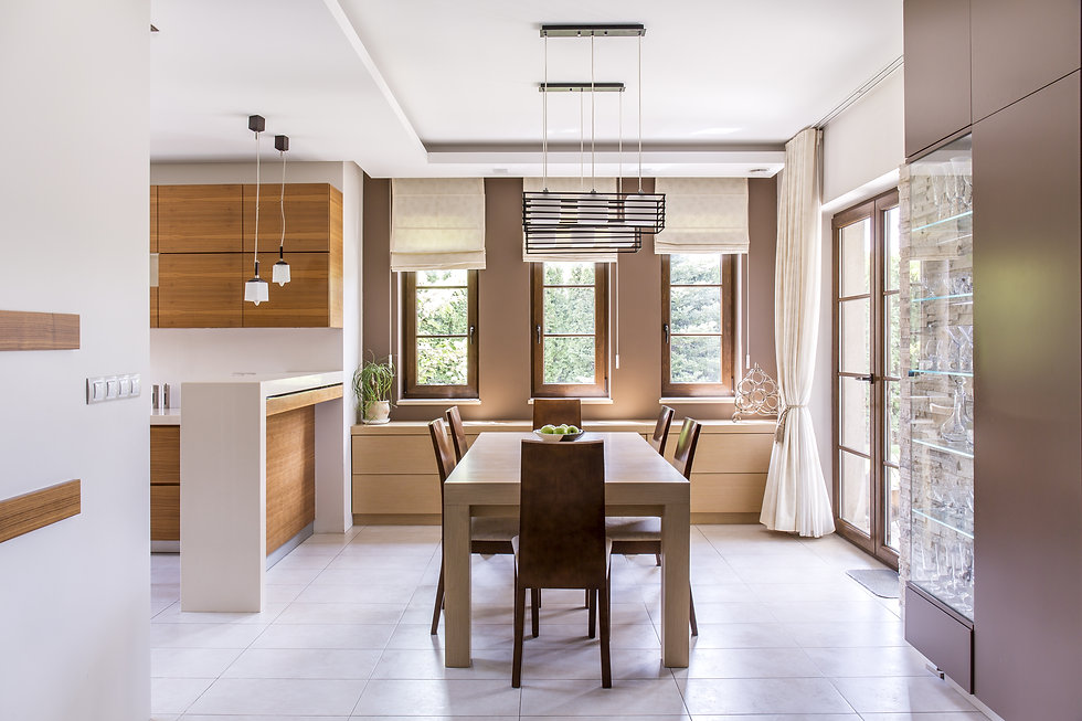 Kitchen and dining room in modern house.jpg