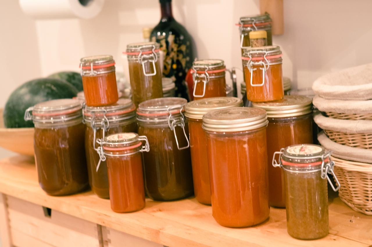 Homemade Jams and Sauces