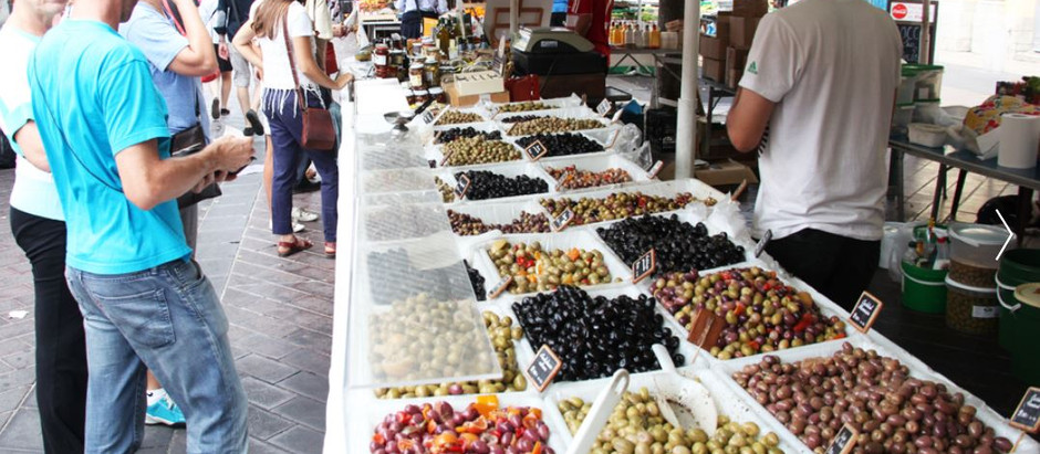 The Markets of Antibes