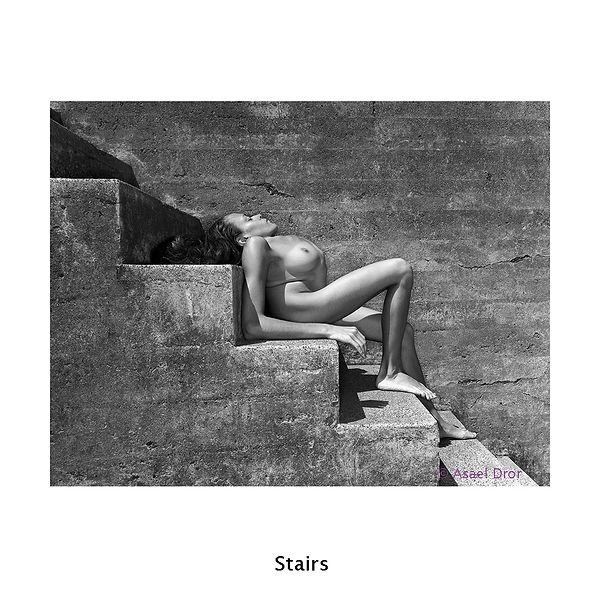 The Beaut of Tiffany by Asael Dror, Stairs