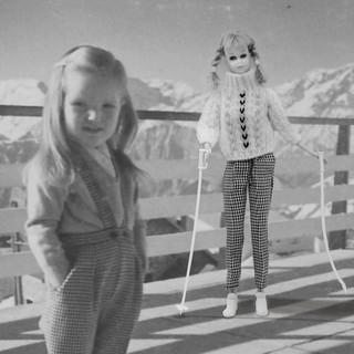 Isa au ski