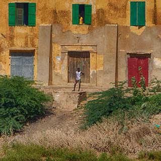 Village Toucouleur du fleuve le Sénégal