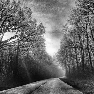 Sur la route de Saint Léger