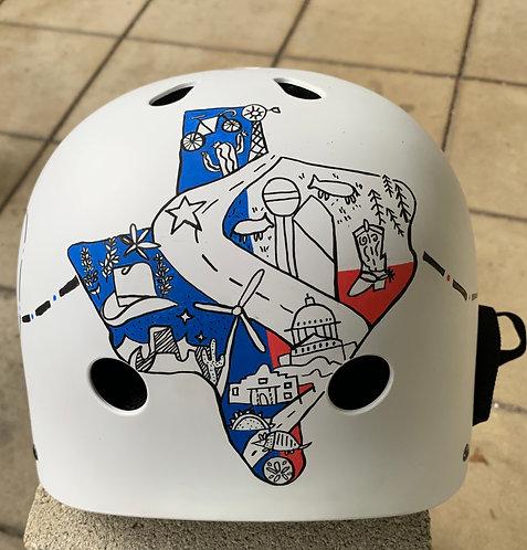 Texas Distance Challenge Helmet