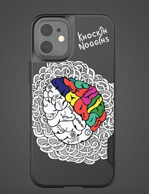 Knockin' Noggins Phone Case