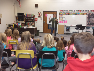 Storyteller Comes to Axtell Elementary
