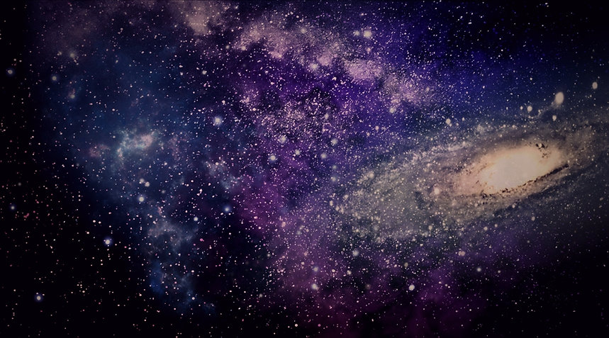 An edited compilation of galaxy images.