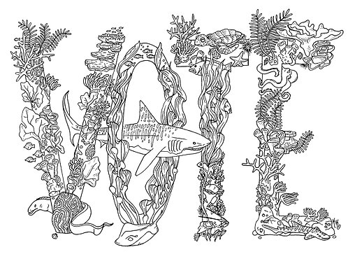 FREE- VOTE coloring page