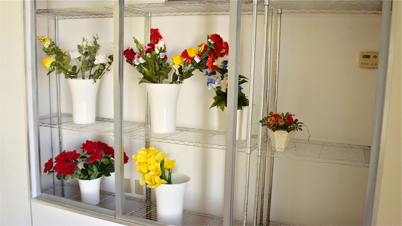 Flower shop Standing set interior