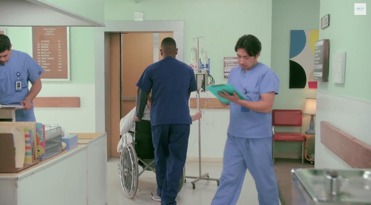 Hospital Standing Set