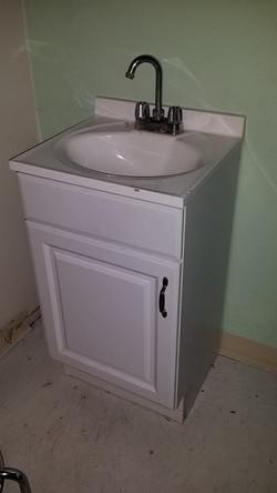 Patient Room Sink