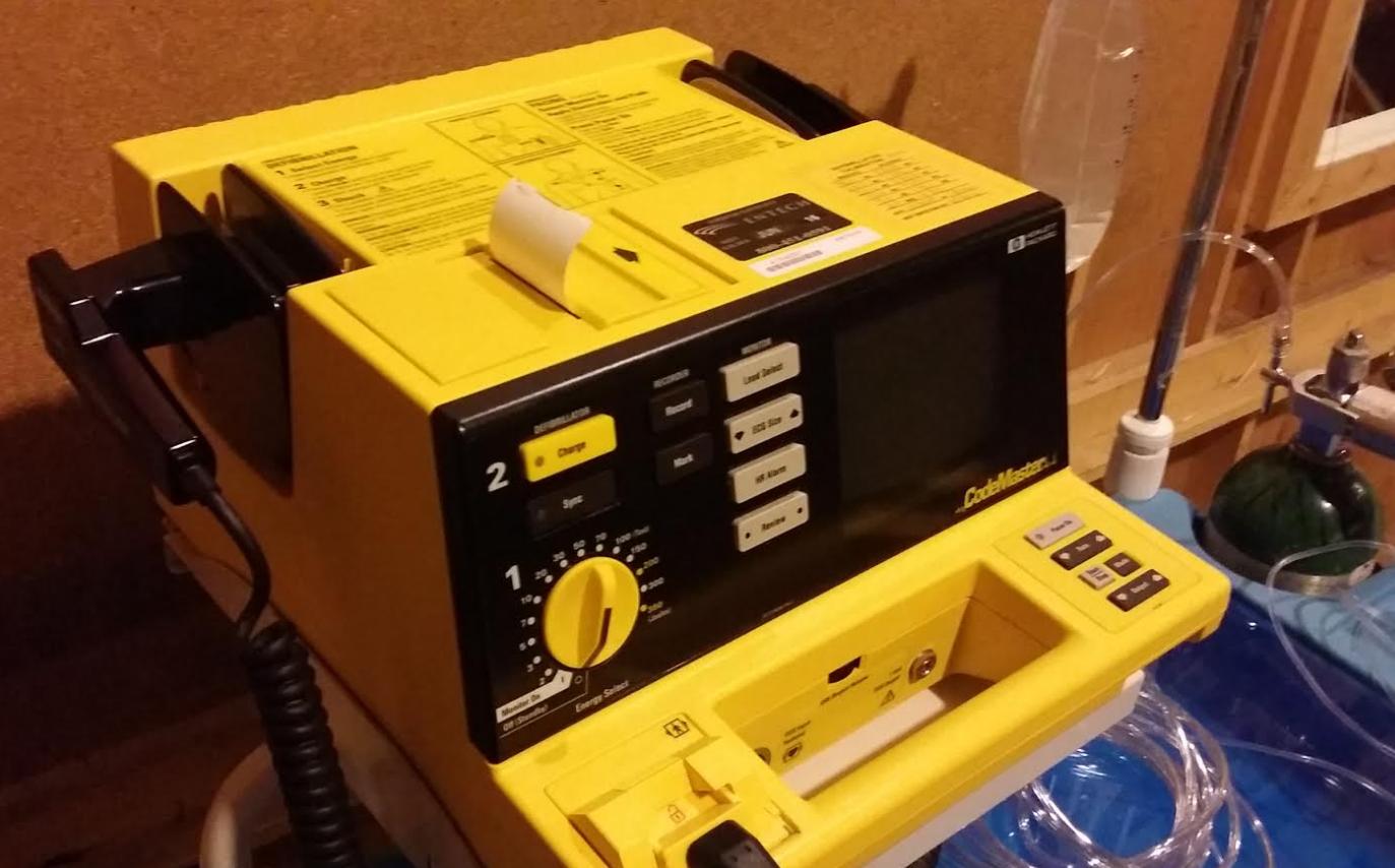 Defibrillator,