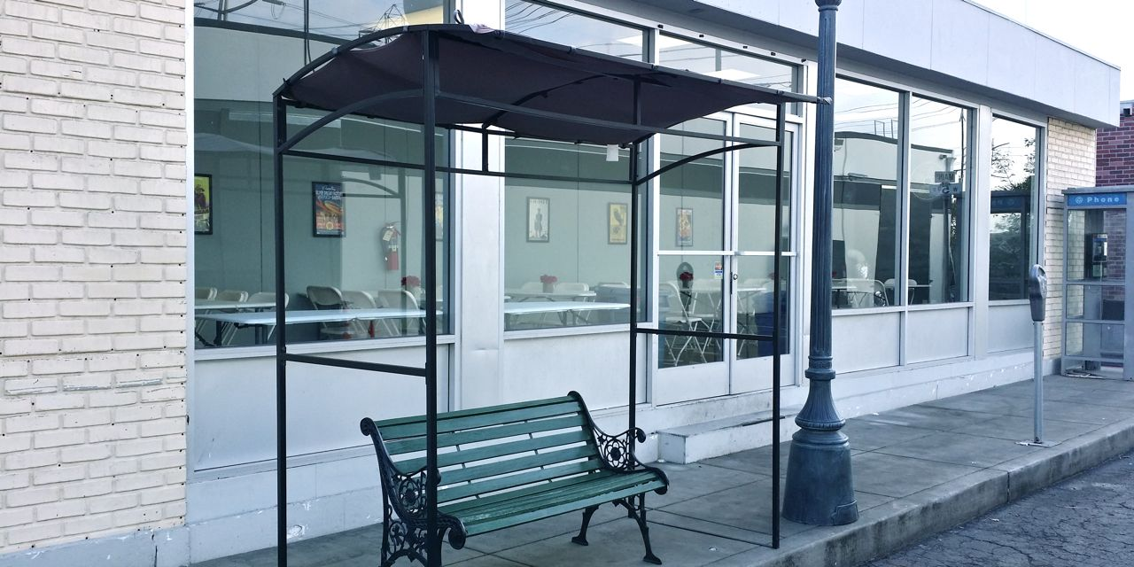 Backlot Bus stop