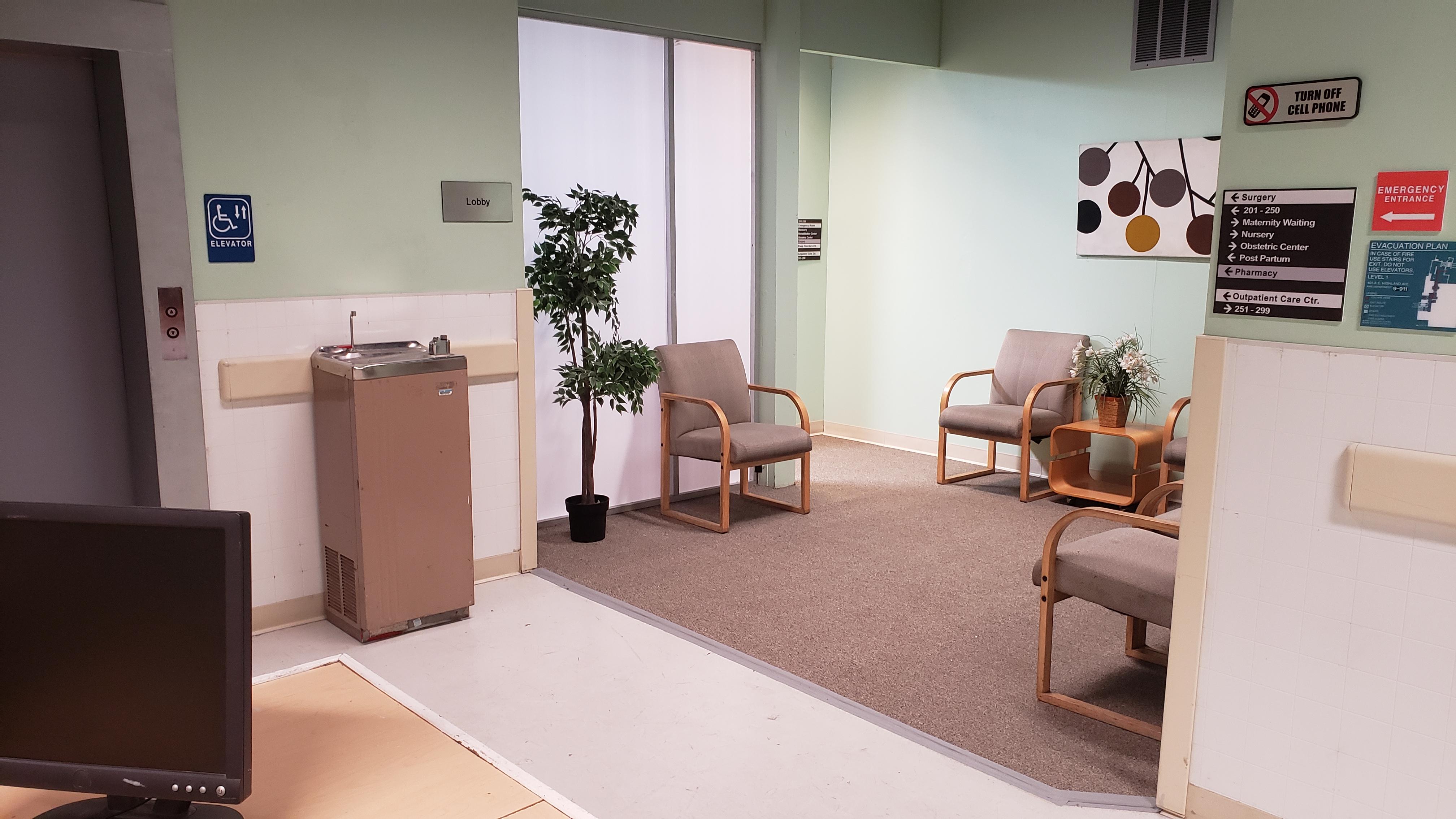 Updated Lobby/Waiting Room 2/16/20