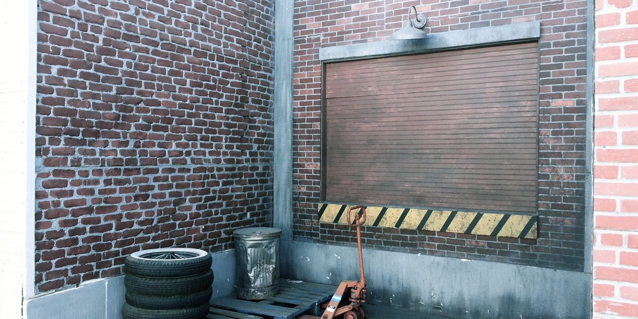 backlot Standing Set Alley