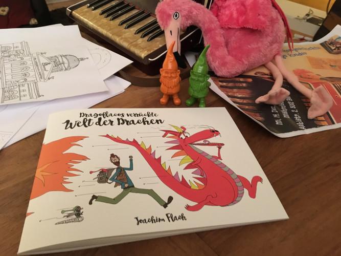 Das verrückte Drachen-Malbuch