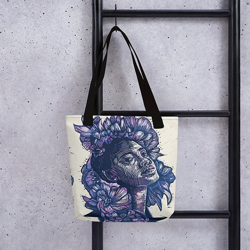 Renew tote bag featuring original artwork