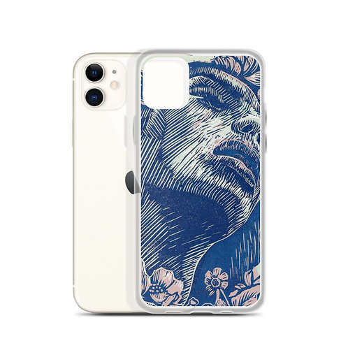 iPhone Case Emergent blue and pink