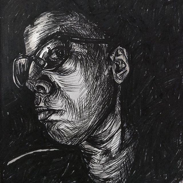 Quick(ish) pen drawing. ._._._