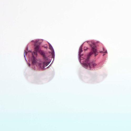 resolute stud earrings