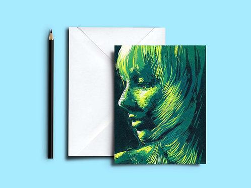 Glimpse blank art card