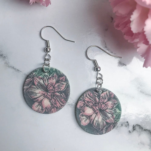 Reflect flower earrings