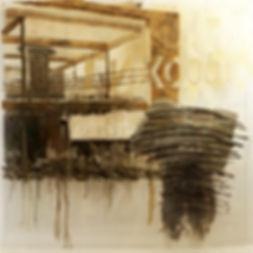 """""""Тихооооо"""", плексиглас, масло, 100х100см., 2013"""