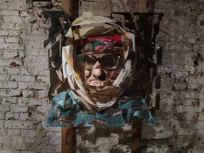 """""""Unite №1"""", 100х100 см., плексиглас, масло, 2012"""