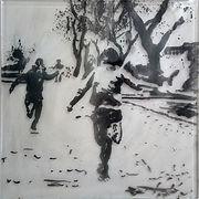 """Manifestation"", pigment painting by Vladimir Potapov"