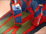 """""""Рождение шедевра"""", масло, бытовые предметы, 2010, автор Потапов Владимир"""