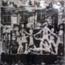 Фонтан, 100х100 см., пигмент,плексиглас,смола,2014