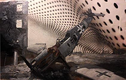 """""""Мальчик"""", плексиглас, масло,120х100 см., 2012, автор Потапов Владимир"""