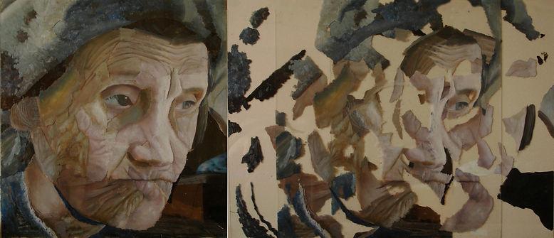 """""""Unite №3"""", 100х100 см., плексиглас, масло, 2012"""