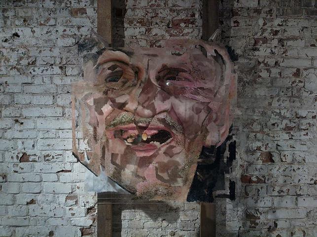 """""""Unite №4"""", 100х100 см., плексиглас, масло, 2012"""