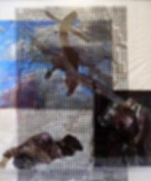 """""""Преобразование"""", плексиглас, масло,120х100 см., 2012, автор Потапов Владимир"""